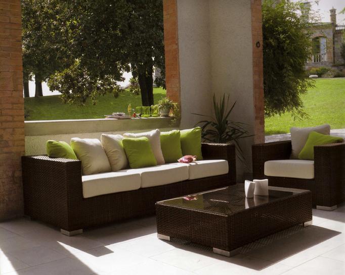 Arredamento da giardino a roma vendita e noleggio for Arredamenti esterni per terrazzi