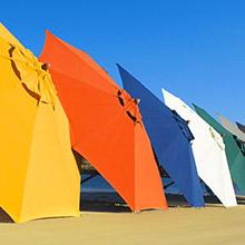 Ombrelloni Da Spiaggia Leggeri.Arredamento Per Spiaggia Forniture Per Stabilimenti Balneari